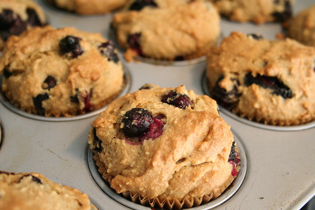 Gluten-free Recipe: Blueberry Muffins